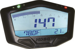 Koso X-2 Boost Gauge W/ Air/Fuel Ra Tio And Temperature - BA029001