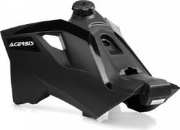 Acerbis Fuel Tank Black W/Black Cap 3.4 Gal - 2140790001