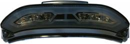 Dmp Powergrid Tail Light (Smoke) - 905-3329D