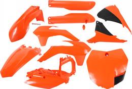 Acerbis Full Plastic Kit (Orange/Black) - 2403091008
