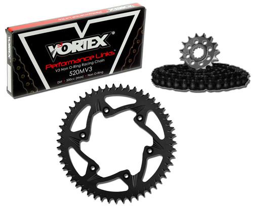 Vortex CK4256 Chain and Sprocket Kit MXA KAW KX250F 11-15 (1U,ALU)