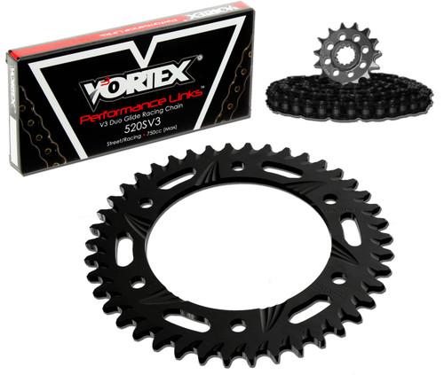 Vortex CK5225 Chain and Sprocket Kit GFRA SUZ GSX-R600 01-03 (1D,ALU)