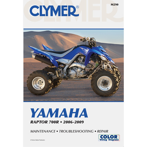 Clymer M290 Service Shop Repair Manual Raptor 700R 2006-2009