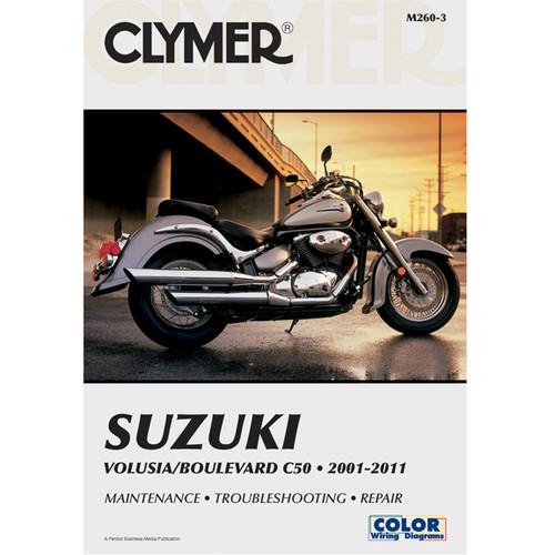 Clymer M260 Service Shop Repair Manual for Suzuki VOLUSIA 01-04