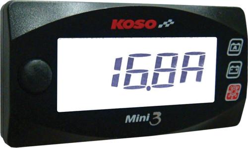 KOSO MINI 3 AMP & VOLT METER (BA003190)
