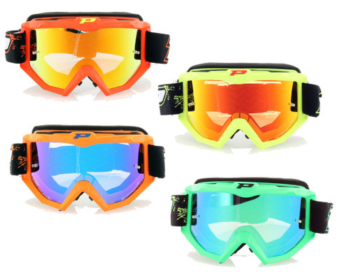 Pro Grip 3204 FLUO MX Goggles Day Glow