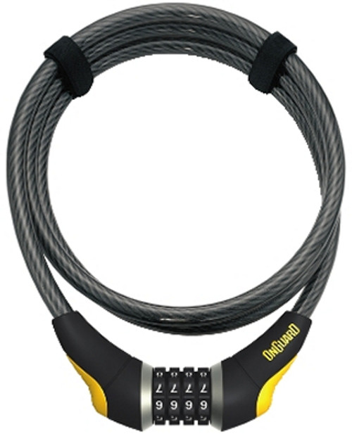 OnGuard 8041 6' Akita Resettable Combo Lock 6' x 12mm