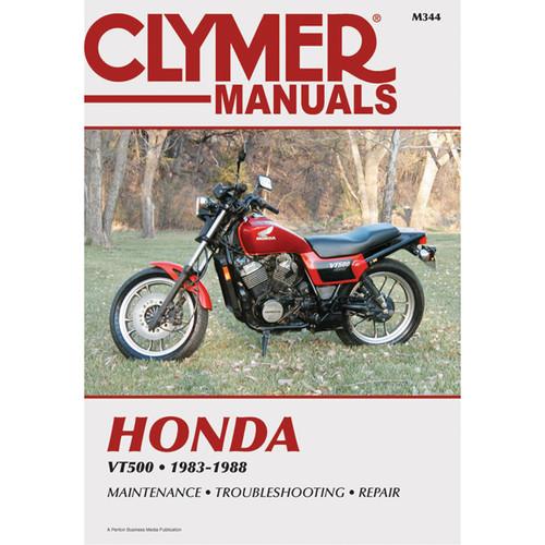 Clymer M344 Service Shop Repair Manual Honda VT500 83-88