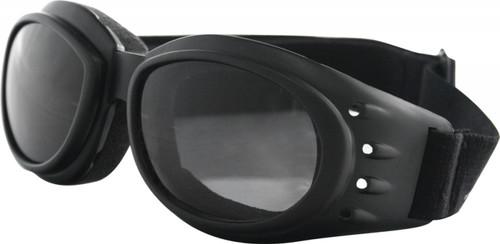 BOBSTER SUNGLASSES CRUISER II BLACK W/ 3 LENS (BCA2031AC)