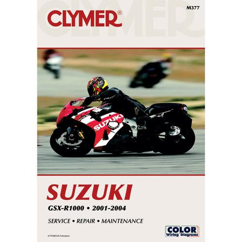 Clymer M377 Service Shop Repair Manual Suzuki GSX-R1000 2001-2004