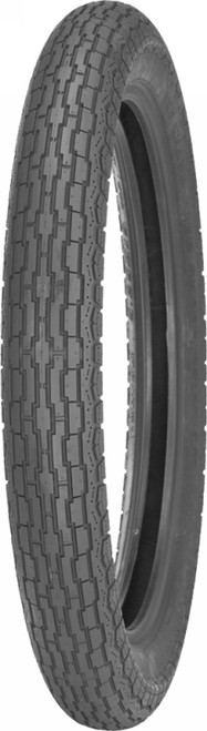 IRC GS-11 TIRE FRONT 3.00X18 BW (101954)