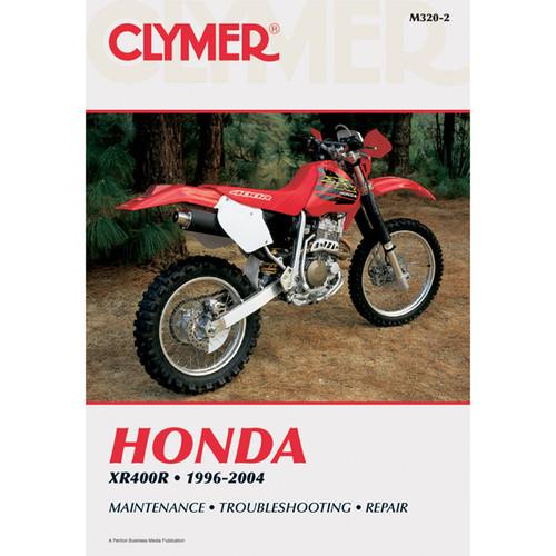 Clymer M320-2 Service Shop Repair Manual Honda XR400R 1996-2004