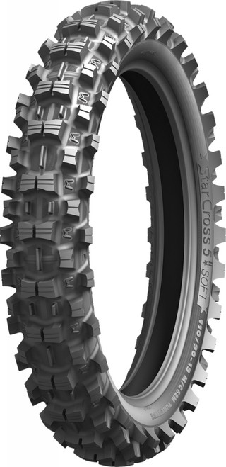 MICHELIN TIRE 100/100-18R STARCROSS-5 S OFT TT 62M (51796)