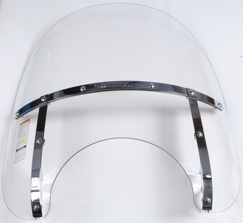 National Cycle Switchblade Windshield 2-Up (Clear) - N21115