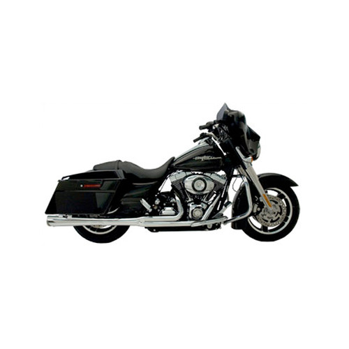Supertrapp Supermegs Exhaust HD FLH '09 Chrome