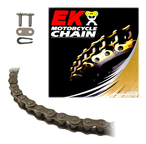 EK 525SR Heavy Duty Motorcycle Chain (Clip Master)