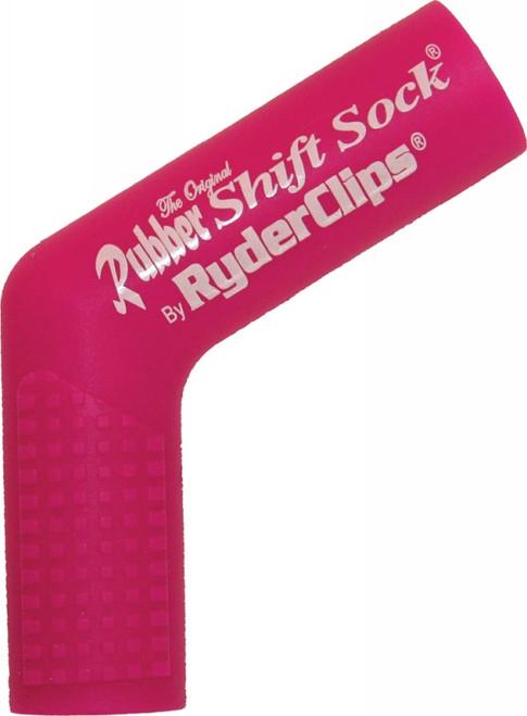 RYDER CLIPS RUBBER SHIFT SOCK (PINK) (RSS-PINK)