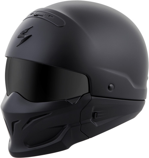 Scorpion Covert Open-Face Solid Helmet Matte Black