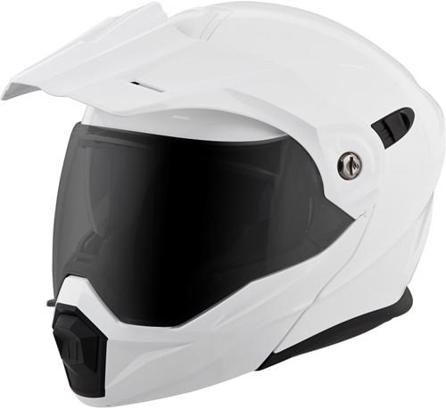 Scorpion Exo-At950 Modular Solid Helmet White