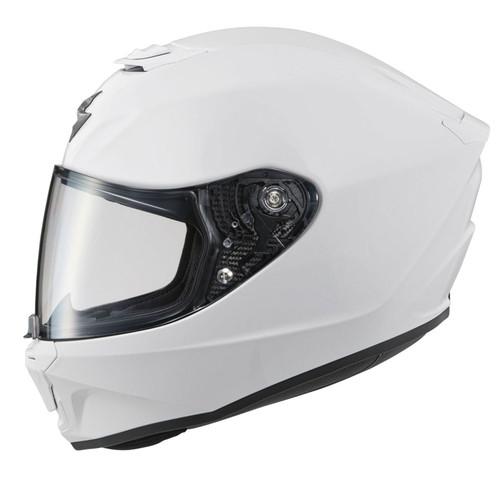 Scorpion Exo-R420 Full-Face Solid Helmet White