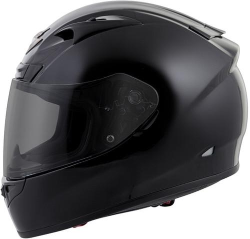 Scorpion Exo-R710 Full-Face Solid Helmet Black