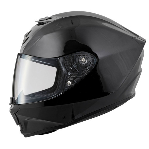 Scorpion Exo-R420 Full-Face Solid Helmet Black