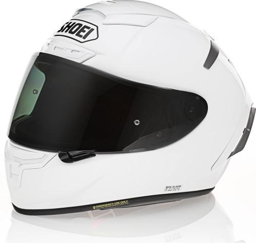 Shoei X-14 White Helmet