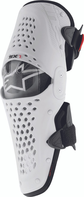 Alpinestars Sx-1 Knee Guards White Black