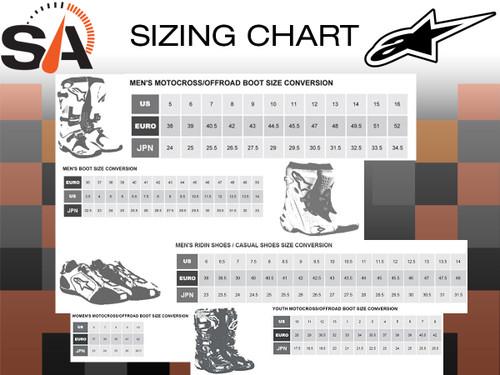 Alpinestars Tech 5 Boots White Black