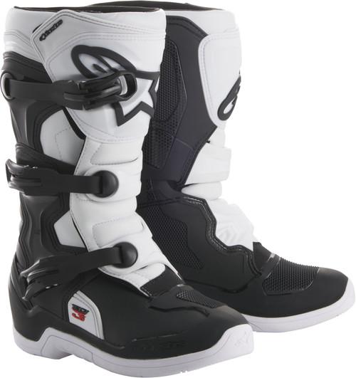 Alpinestars Tech 3S Youth Boots Black White
