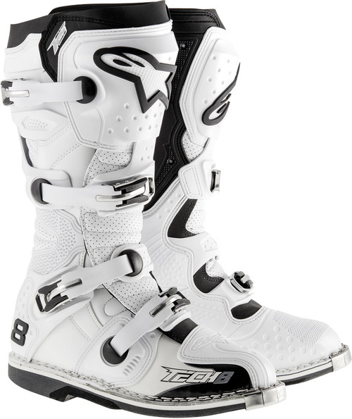 Alpinestars Tech 8 RS Boots White Vented