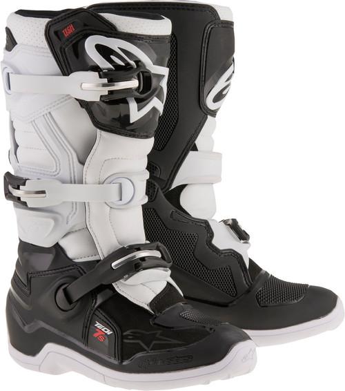 Alpinestars Tech 7S Youth Boots Black White