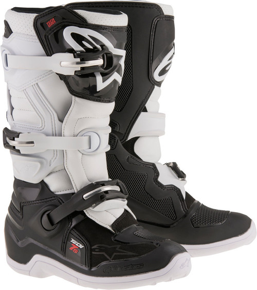 Alpinestars Tech 7S Youth Boots Black White