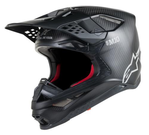 Alpinestars Supertech M10 Black Carbon Helmet