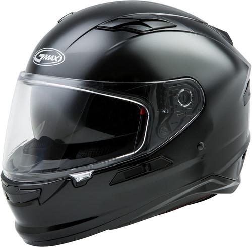 Gmax FF-98 Full Face Solid Helmet Black