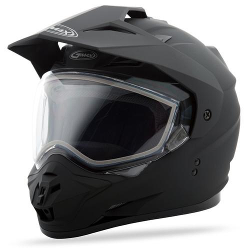 Gmax GM-11 Snow Solid Adventure Helmet Matte Black