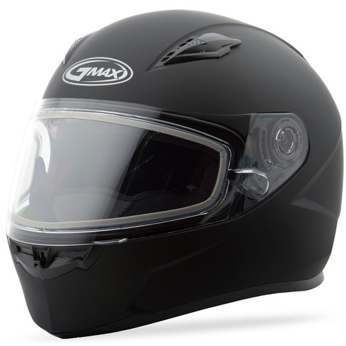 Gmax FF-49 Snow Solid Full Face Helmet Matte Black