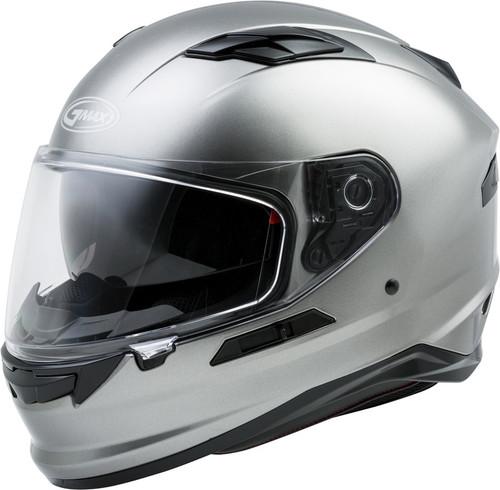 Gmax FF-98 Full Face Solid Helmet Titanium
