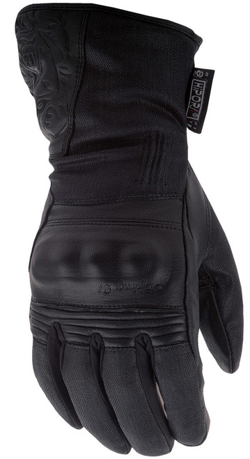 Highway 21 Women's Black Rose Gloves