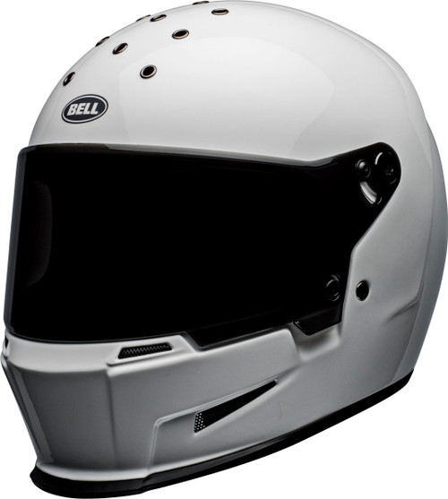 Bell Eliminator Gloss White Helmet