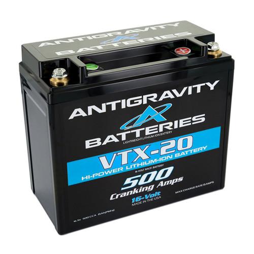 Antigravity 16-Volt Lithium Battery VTX-20L 500CA (LEFT NEG)