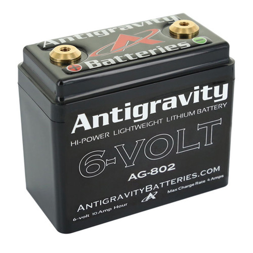 Antigravity 6-VOLT Lithium Battery AG-802 120CA CTR Terminal