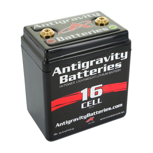 Antigravity Small Case Lithium Battery AG-1601 480CA CTR Terminal