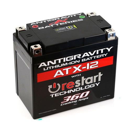 Antigravity Re-Start Lithium Battery ATX-12 360CA 4 Terminal