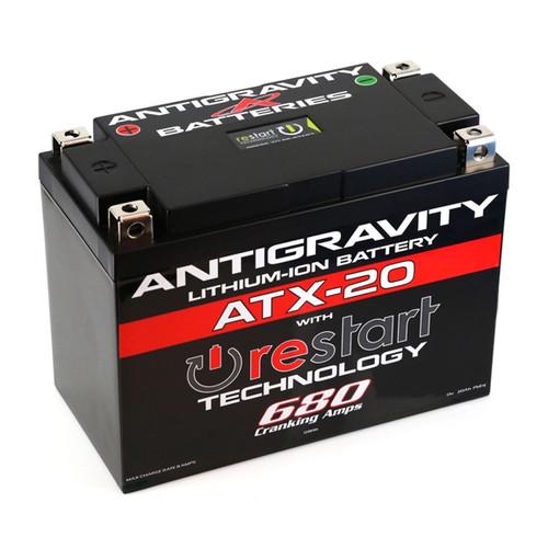 Antigravity Re-Start Lithium Battery ATX-20 680CA 4 Terminal