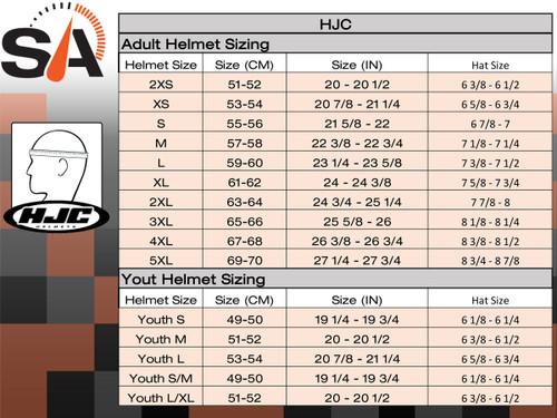 HJC CL-17 Solid Gloss Black Helmet