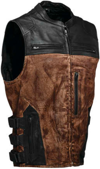Speed and Strength TOUGH AS NAILS Brown Vest