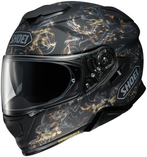 Shoei GT-AIR II Conjure TC-9 Gold Helmet
