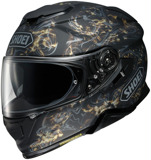 Shoei GT-AIR II Conjure TC-9 Gold Helmet
