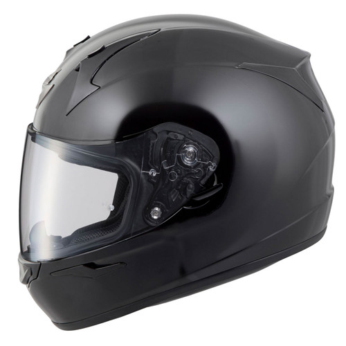 Scorpion EXO-R320 Solid Black Helmet